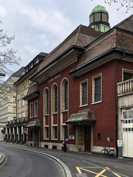 St.Anna-Kapelle, Zurich, 2019-04-12 (© Rolf Kyburz)