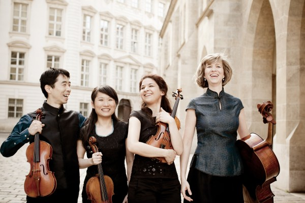 Pacific Quartet Vienna (© Julia Wesely)