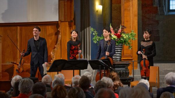Quatuor Hermès, Kirche St.Peter, Zurich, 2019-05-12 (© Rolf Kyburz)