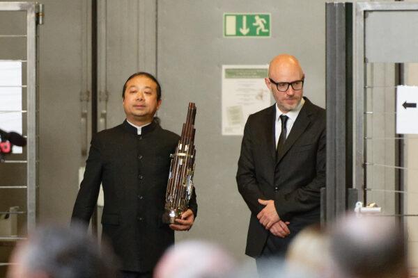 Wu Wei & Baldur Brönnimann @ Pantheon, Muttenz/Basel, 2019-05-05 (© Rolf Kyburz)