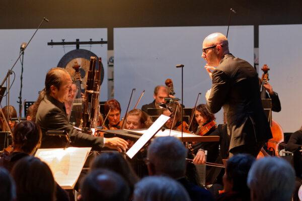 Wu Wei, Baldur Brönnimann @ Pantheon, Muttenz/Basel, 2019-05-05 (© Rolf Kyburz)