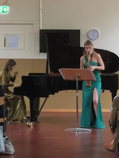 Valentine Michaud & Akvilė Šileikaitė, Klangraum/Tonhalle Maag, 2019-05-26 (© Rolf Kyburz)