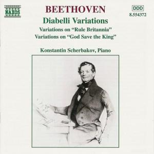 Konstantin Scherbakov: Beethoven, Variations for Piano —CD cover