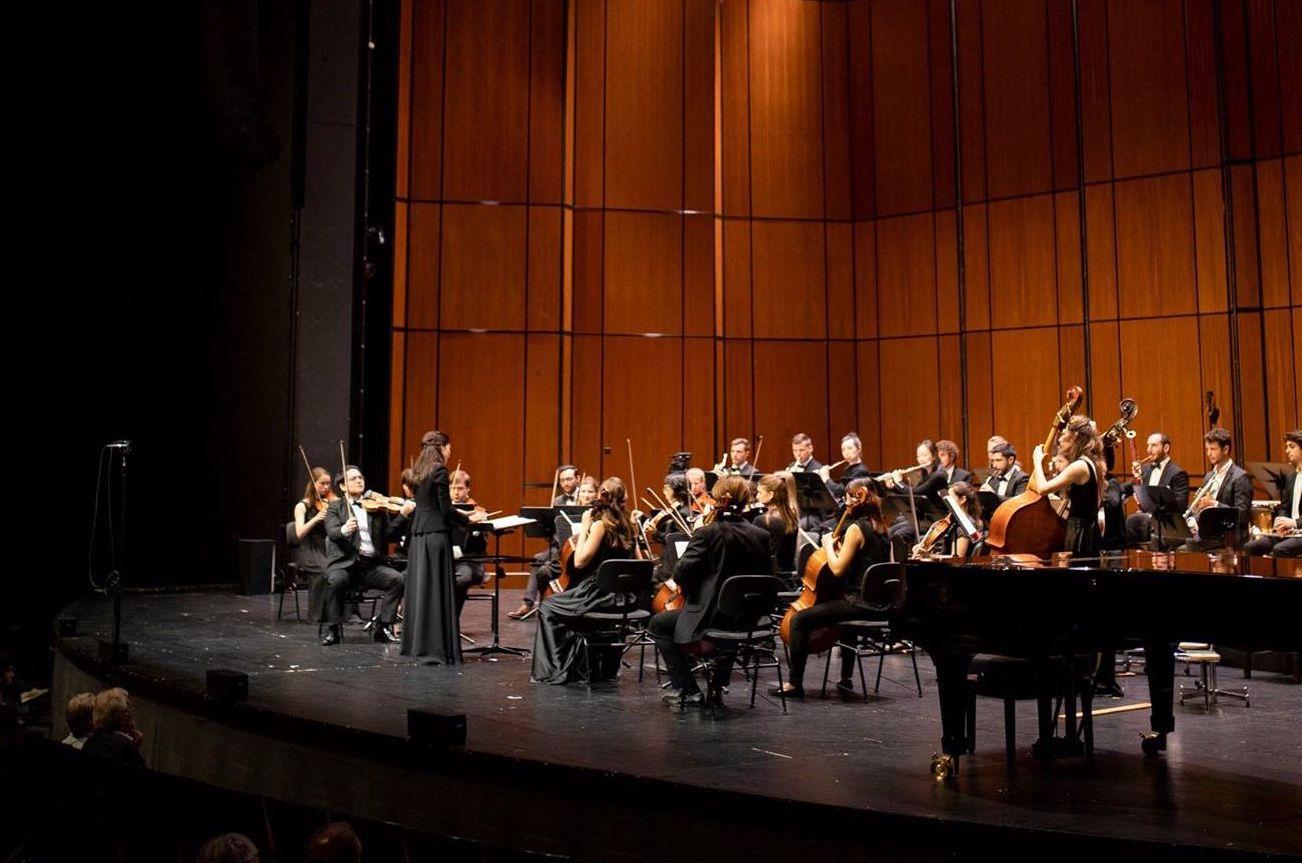 Adrija Čepaitė, YES Orchestra —Basel, 2019-05-23 (© Konzertgesellschaft Basel)