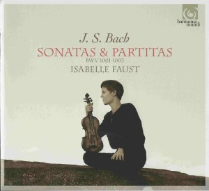 Isabelle Faust, Bach Sonatas & Partitas, vol.2 (CD cover)