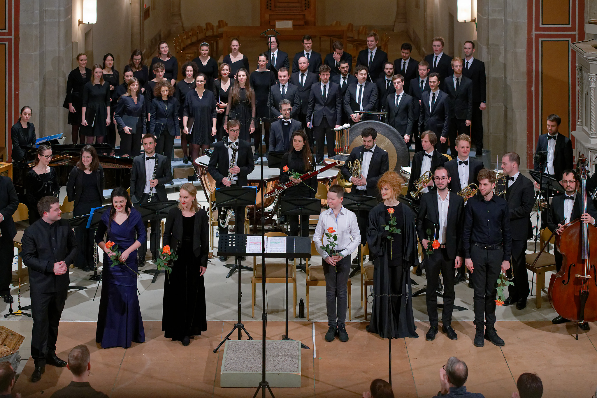 Christian Erny, Zurich Chamber Singers, OoE, Soloists @ Winterthur, 2020-01-19 (© Rolf Kyburz)