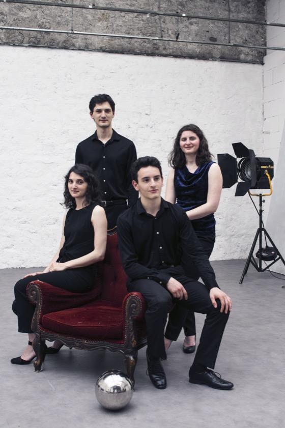 Quatuor Tchalik (© Julien Daniel)