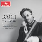 J.S. Bach, Sonatas & Partitas —Tomás Cotik (CD cover)