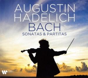 J.S. Bach, Sonatas & Partitas —Augustin Hadelich (CD cover)
