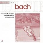 J.S. Bach, Sonatas & Partitas —Thomas Zehetmair (CD cover)