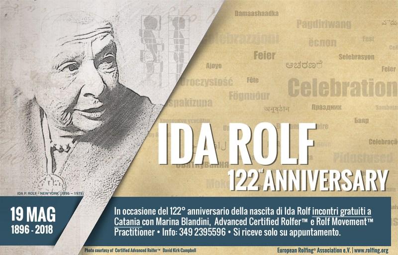 Ida Pauline Rolf - Anniversario 2018 19 Maggio
