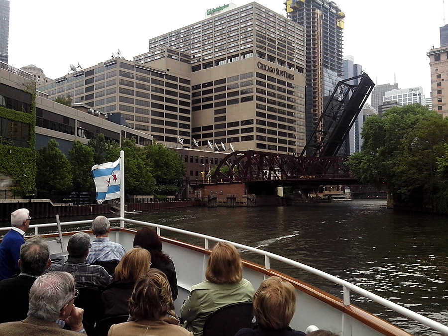 view from the boat tour