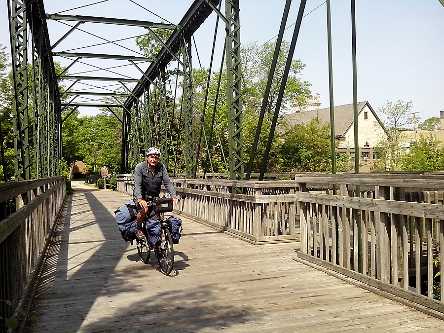 Interurban Bridge in Cedarburg