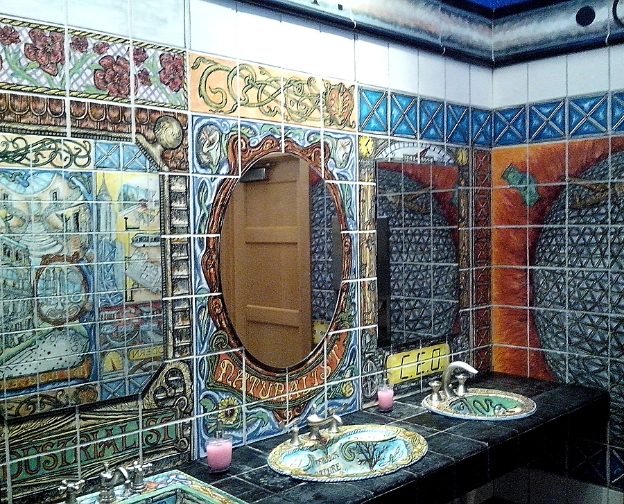 Bathrooms as art