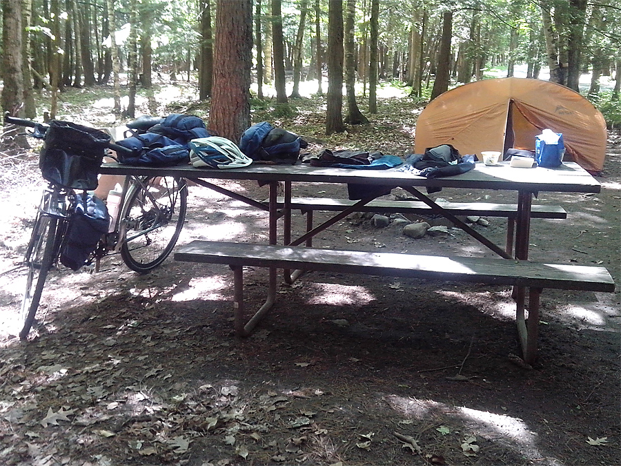 Potawatomi campsite