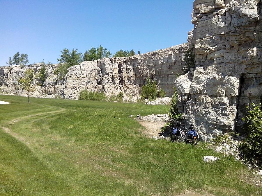 Niagara escarpment limestone