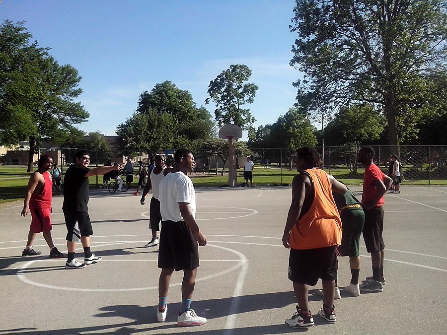 Neighborhood basketball