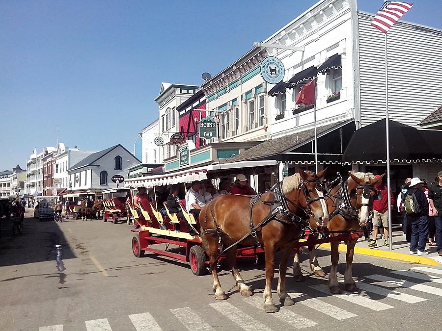 Carriage on Main Street