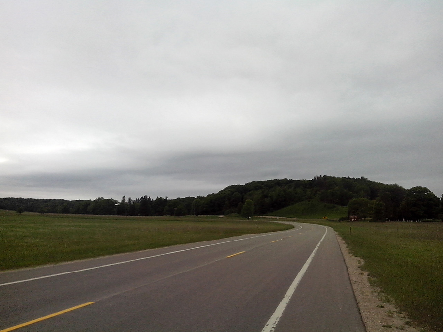 Approaching Glen Arbor