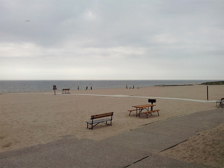 Muskegon Beach