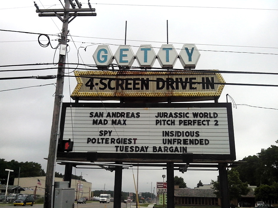 Drive-in theatre, Muskegon
