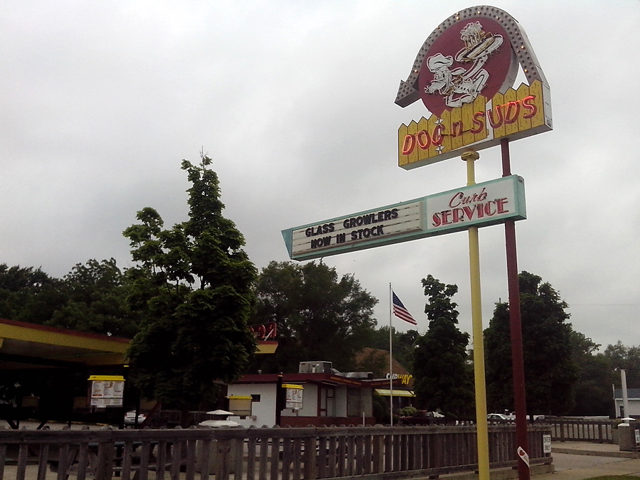 Drive-in restaurant, Muskegon