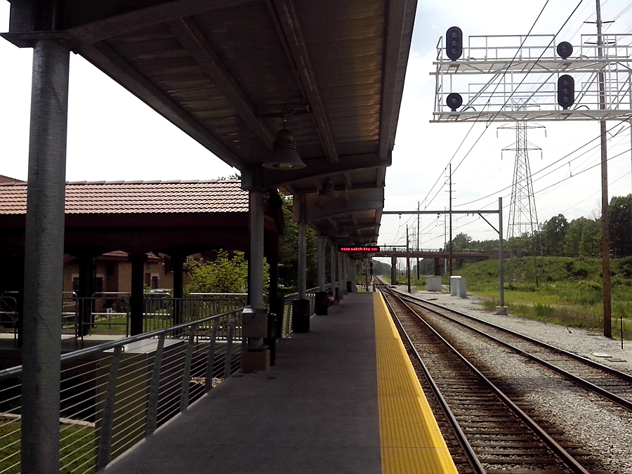 South Shore Line commuter station