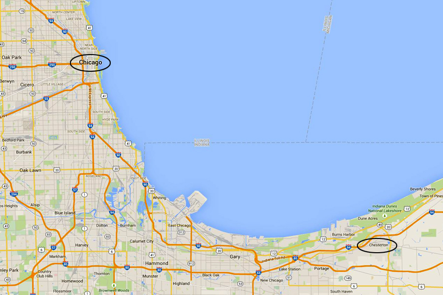 Chesterton to Chicago