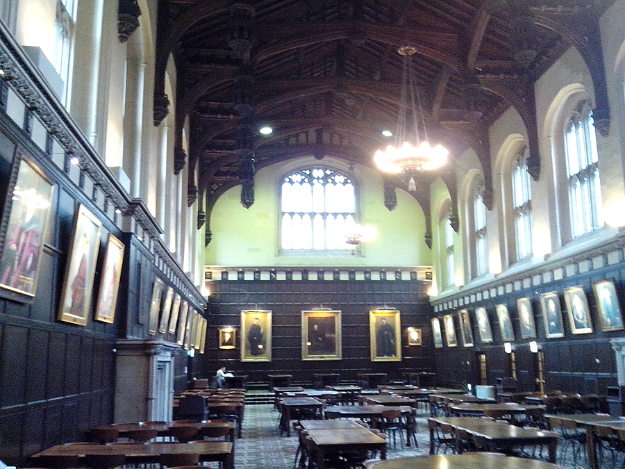 Hutchinson Commons, in old English style