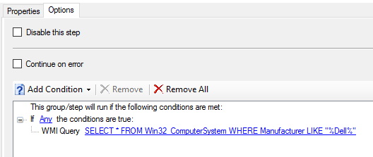Configure Dell Bios during OSD |