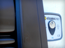 Fechadura para Grades de Enrolar Motorizadas