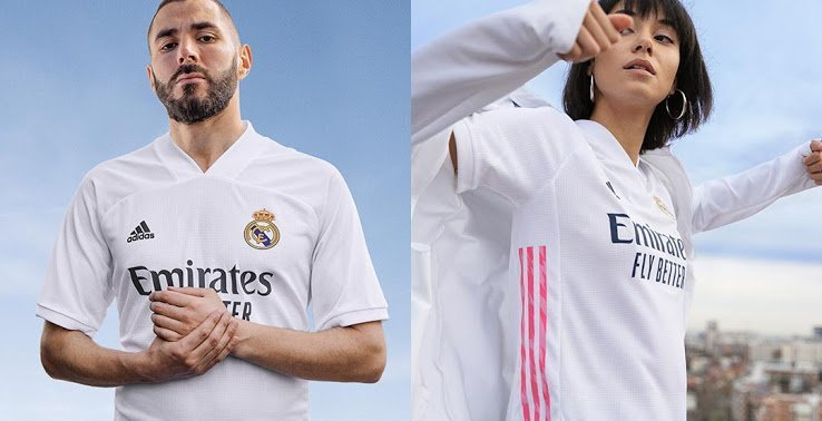 Real madrid home jersey 20-21