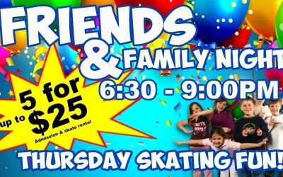 Friends and Family Value Night