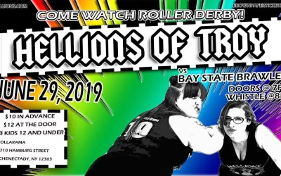 Hellions of Troy vs Bay State Brawlers at Rollarama