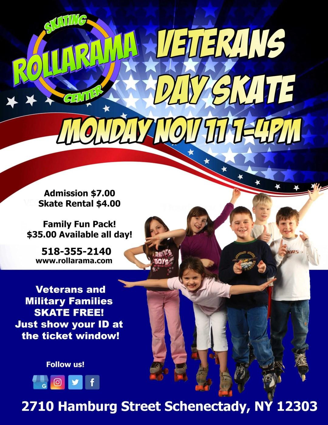 Veterans Day Skate