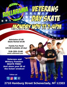Veterans Day Skate at Rollarama