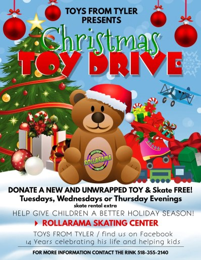 Rollarama sponsors the 2019 Toys from Tyler Foundation