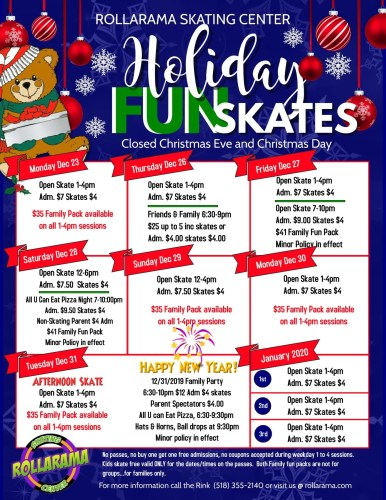 Holiday Fun Skates