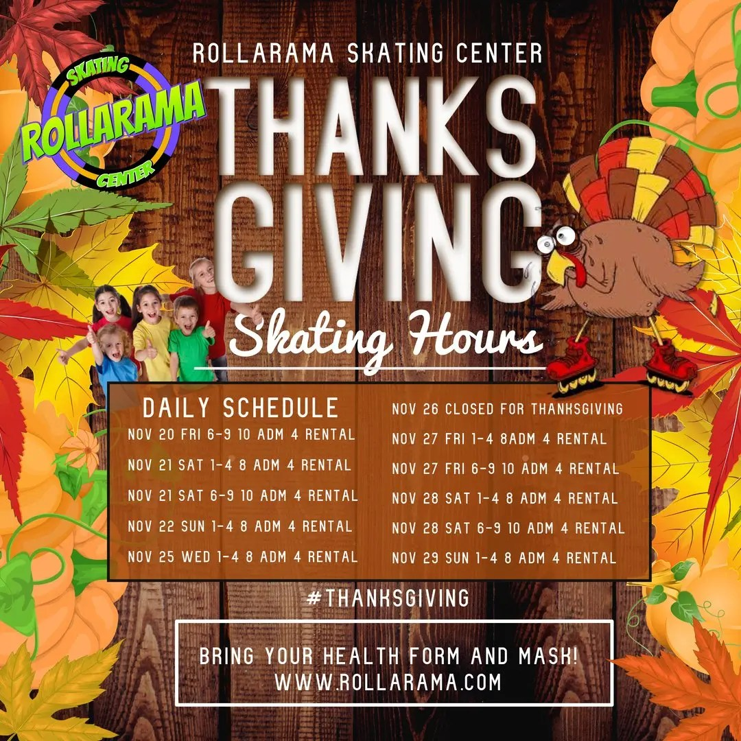 Thanksgiving Family Skate