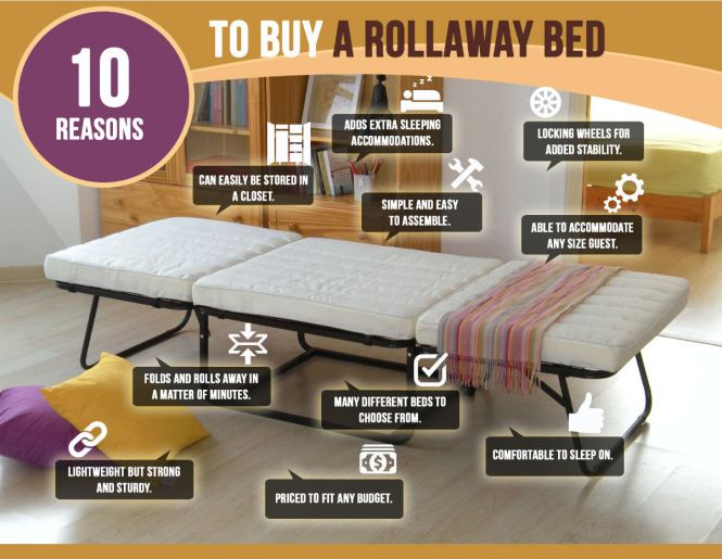 Rollaway Bed Infographic