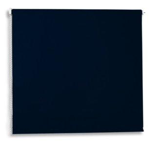 Verdunklungsrollo - schwarz - 120x180 cm
