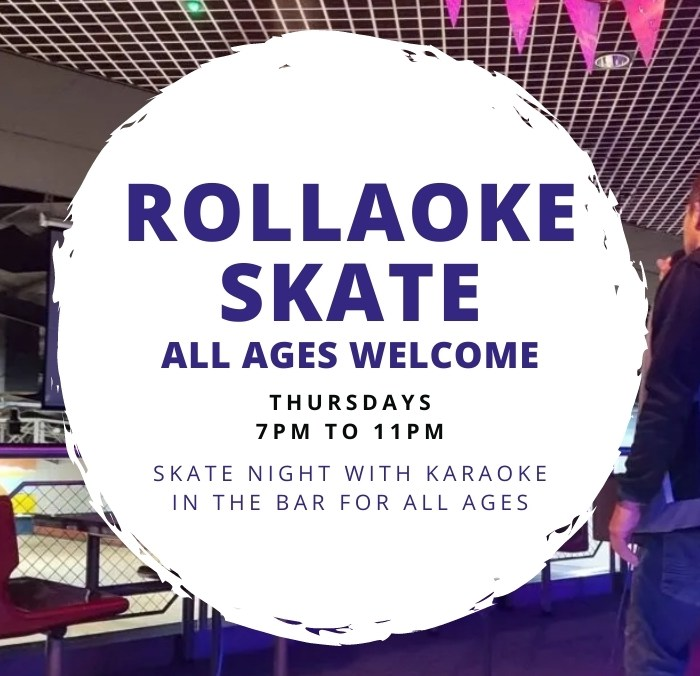 Rollaoke Skate Night