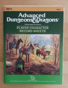 Record sheets