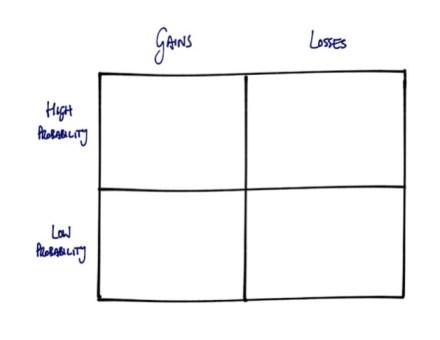 prospect theory matrix