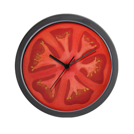 tomato_wall_clock