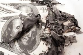 No more cash