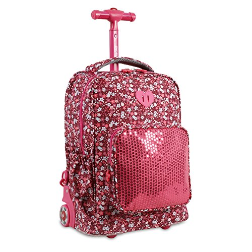 """L.O.L Surprise /""""we got the moves/"""" Small School Rolling Backpack 12/"""" Girls Bag"""