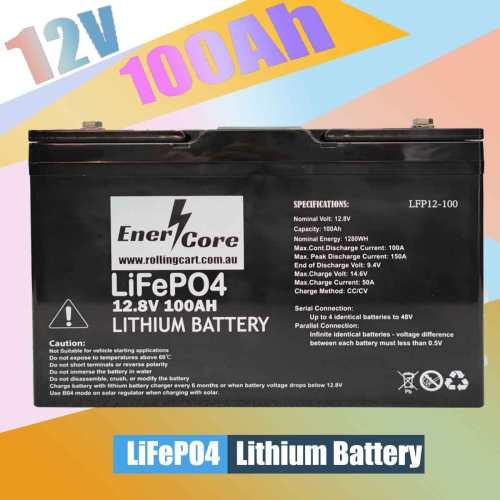 EnerCore 100Ah LiFePO4
