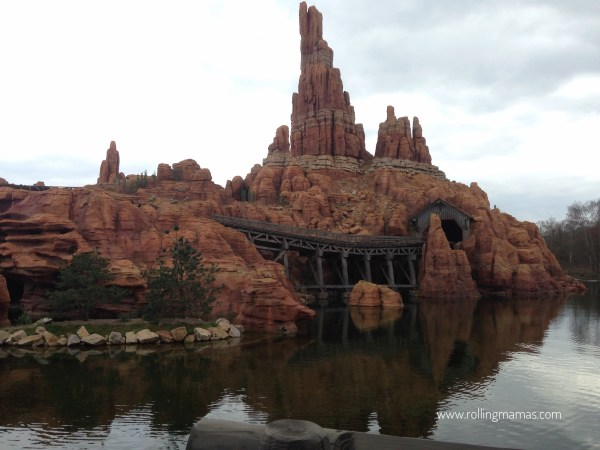 Disneyland Paris Thunder Mountain