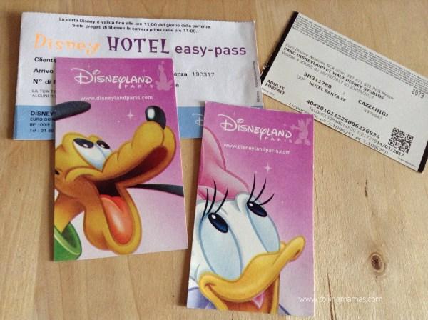 Disneyland Paris easy pass